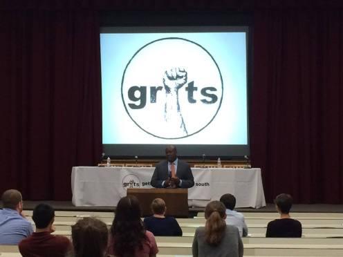 Keynote speaker Derwyn Bunton, Chief District Defender, Orleans Public Defenders